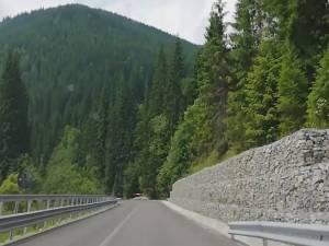 Lucrările la drumul naţional Suceava-Maramureş rămân în grafic, în ciuda vremii nefavorabile