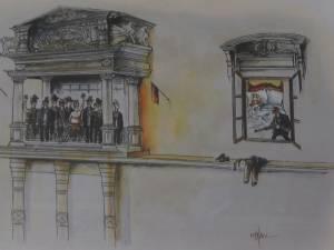 """Premiul I """"Bucovina"""" la grafică satirică a fost câştigat de un artist român"""