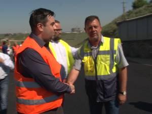 Ministrul Răzvan Cuc în vizită de lucru la centura Sucevei si la cea de la Rădăuţi