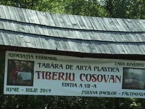 """Tabăra de artă plastică """"Tiberiu Cosovan"""", un centru cultural plin de culoare, emoție, armonie pentru zeci de artiști din țară, însetați de frumos"""