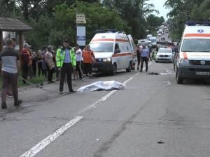 Un bătrân a murit, iar nepotul acestuia a fost grav rănit, într-un accident petrecut între Marginea și Horodnic de Sus