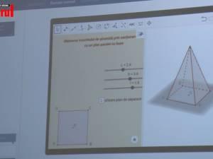Salt tehnologic la şcoala din Putna. Un laborator digital pentru lecţiile de mate şi info a fost inaugurat vineri