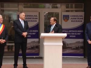 """Președintele României a apreciat Spitalul de Urgență Suceava drept """"un model de bune practici în sistemul de sănătate românesc"""""""
