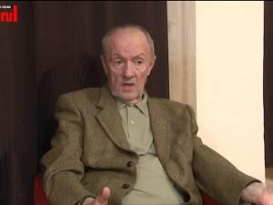 """Actorul Vladimir Găitan, la Suceava: """"Mi-e dor de perioada în care filmele noastre erau văzute cu săli arhipline"""""""