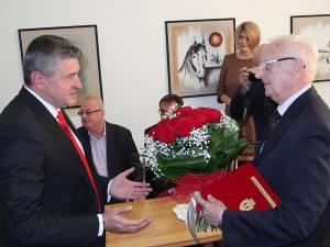 Maestrul Radu Bercea, Cetăţean de Onoare al municipiului Fălticeni