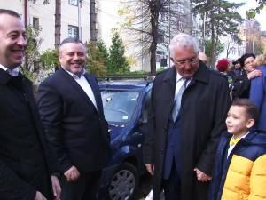 Ion Lungu s-a prezentat la urne alături de soție și nepot și a votat pentru o Românie demnă