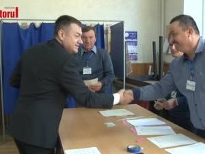 Ministrul Culturii, Bogdan Gheorghiu, a ținut să voteze la Fălticeni pentru o Românie respectată pe plan internațional