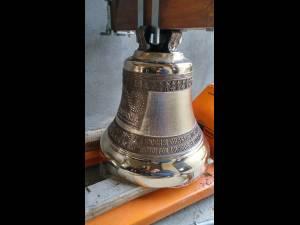 Cele trei clopote care vor fi montate în curând în Turnul Unirii au fost sfințite marți