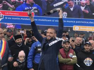 """Ştefan Mandachi, iniţiatorul protestului naţional """"România vrea autostrăzi - #Şîeu"""""""