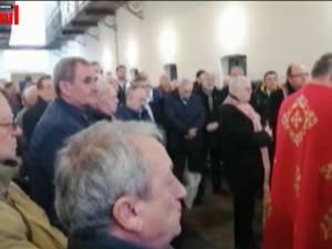 Momente emoționante la comemorarea lui Iuliu Maniu, în prezența unui fost deținut de la Sighet