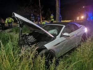 Imagini care surprind accidentul violent de la ieșirea din Rădăuți spre Milișăuți