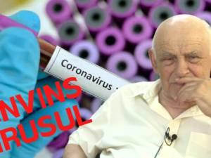 La 82 de ani, a învins coronavirusul