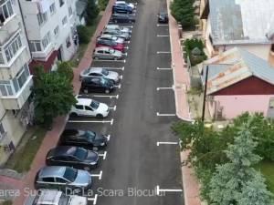 Alte patru parcări de reședință, reabilitate și date în folosință în Obcini