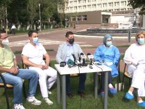 Doar 12 suceveni dintre cei confirmați cu Covid s-au internat în spital