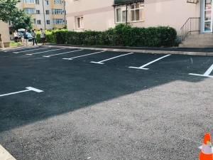 102 noi locuri de parcare amenajate în cartierul sucevean George Enescu