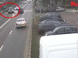 Femeie accidentată mortal pe trecerea de pietoni din cauza vitezei cu care se circulă pe bulevardul principal al Sucevei