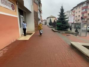 Reabilitarea treptelor și trotuarelor aferente, finalizată în patru zone din Suceava