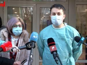 Dr. Monica Terteliu - primul medic din Spitalul Județean Suceava vaccinat anti-COVID