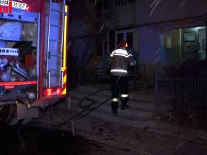 Incendiu la un apartament din cartierul Obcini