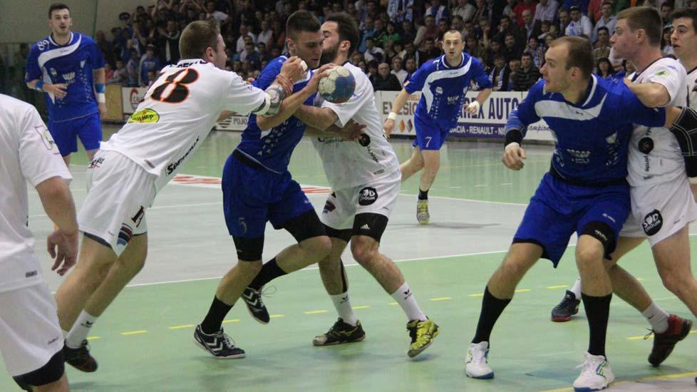 Semifinala Challenge CUP : Universitatea Suceava - Handball Esch Luxemburg